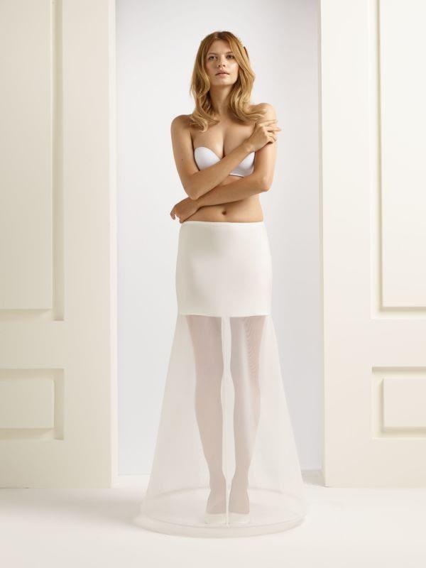 Bianco Evento Petticoat model H13