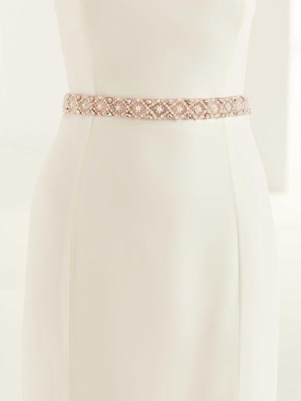 bianco evento bridal belt pa
