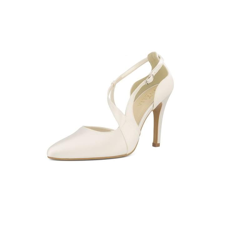 Bruidsschoenen high heels bruid Lexi Online Wedding Shop